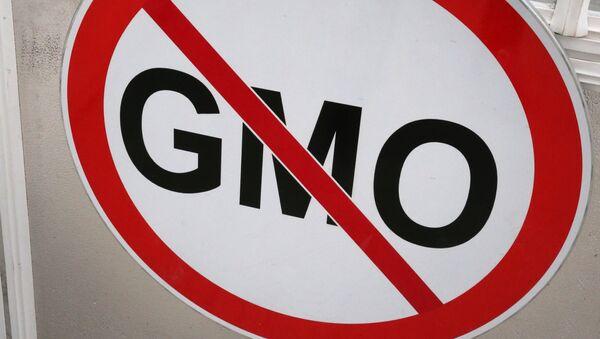 Znak zákazu GMO - Sputnik Česká republika