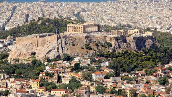 Pohled na Atény - Sputnik Česká republika