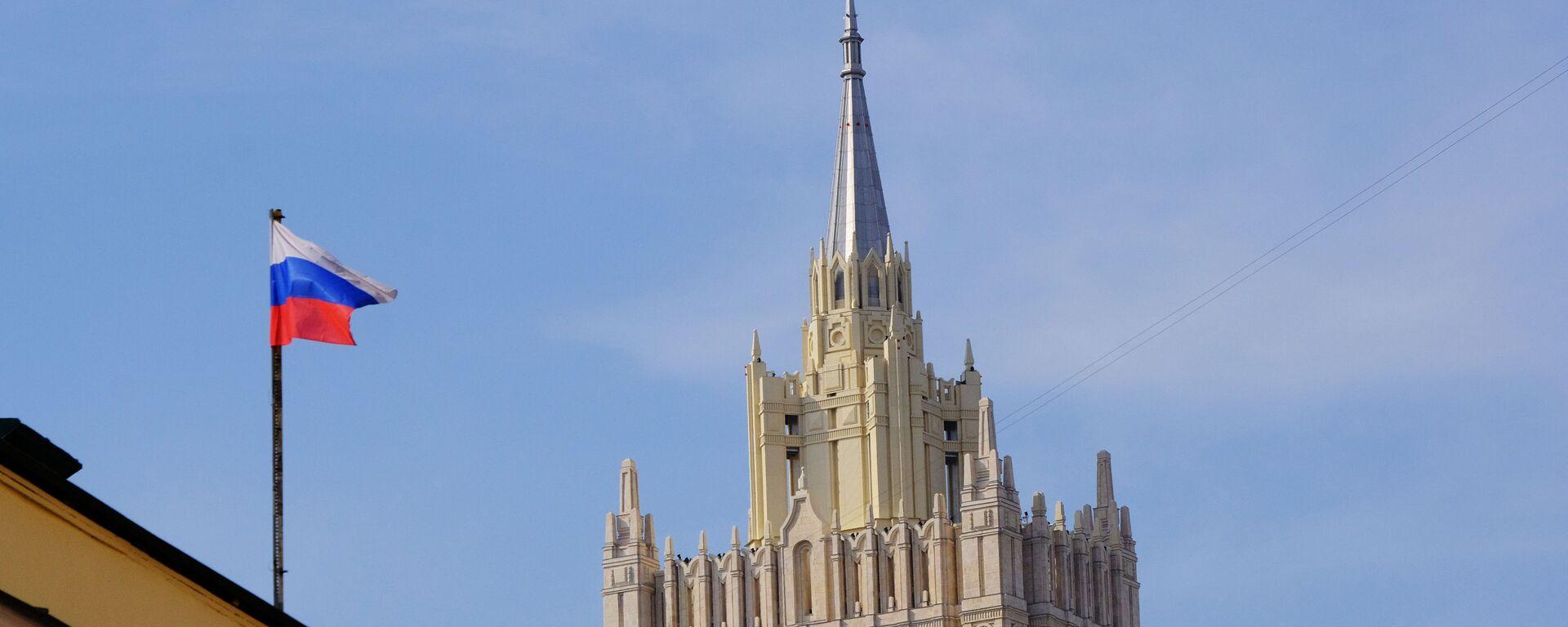 Budova Ministerstva zahraničních věcí Ruska v Moskvě - Sputnik Česká republika, 1920, 28.04.2021