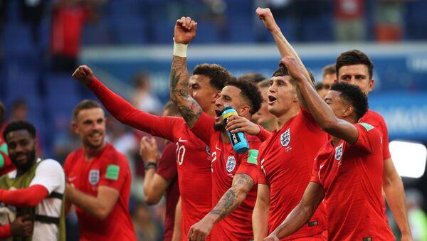 Angličtí fotbalisté - Sputnik Česká republika