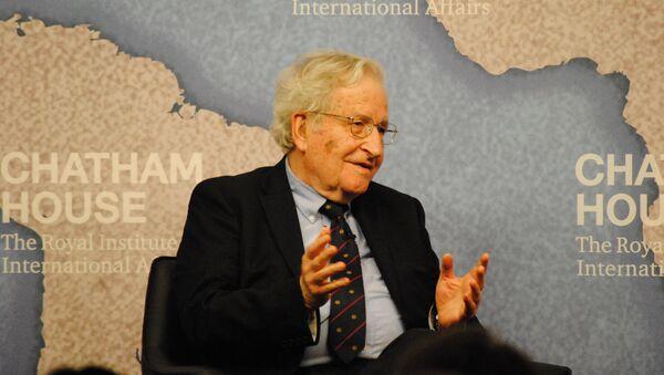 Noam Chomsky - Sputnik Česká republika