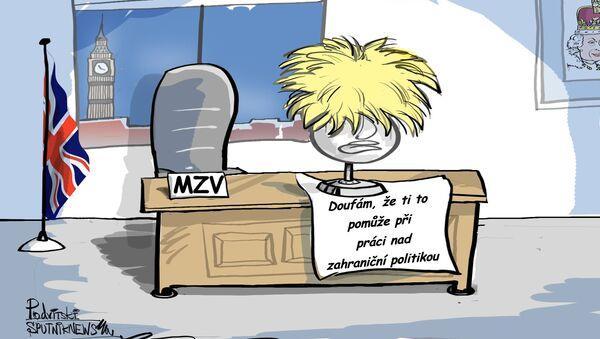 Boris Johnson resignoval - Sputnik Česká republika
