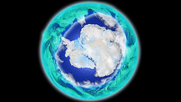 Ozónová díra nad Antarktidou - Sputnik Česká republika