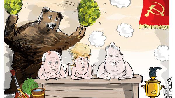 Gorby, Trumpy a Jelcy - Sputnik Česká republika