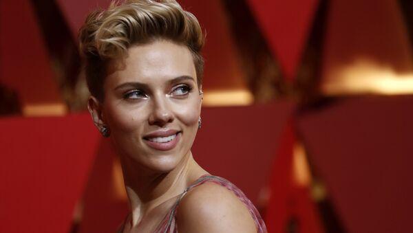 Herečka Scarlett Johanssonová - Sputnik Česká republika