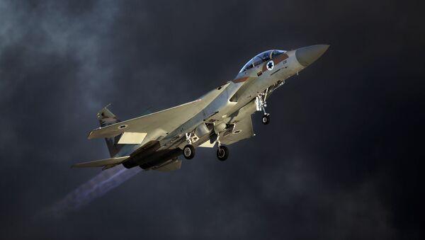 Izraelský stíhací letoun F-15 - Sputnik Česká republika