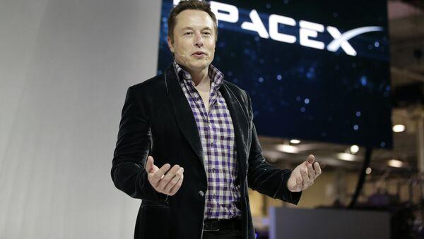 Zakladatel společností SpaceX a Tesla Elon Musk - Sputnik Česká republika
