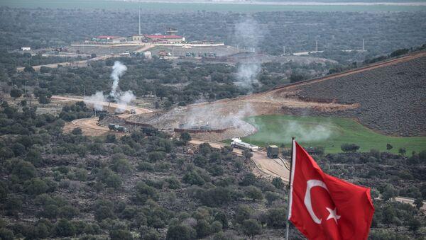 Turecko-syrská hranice - Sputnik Česká republika