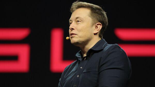 Tesla CEO Elon Musk - Sputnik Česká republika
