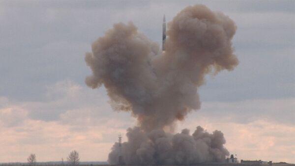 Start rakety Avangard - Sputnik Česká republika