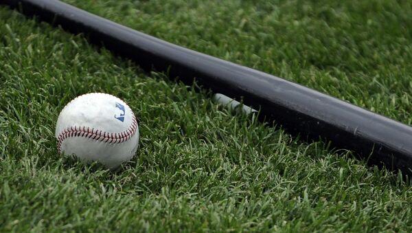 Baseballový pálka na trávě - Sputnik Česká republika