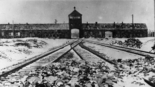 Koncentrační tábor Auschwitz (Osvětim) po osvobození 27. 1. 1945 - Sputnik Česká republika