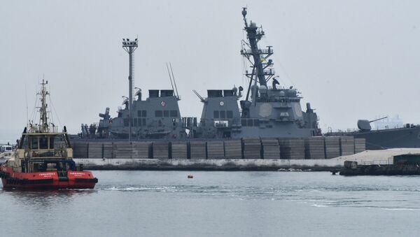 Americký torpédoborec Carney DDG64 . Ilustrační foto - Sputnik Česká republika