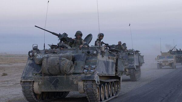 M113 v Iráku. Ilustrační foto - Sputnik Česká republika