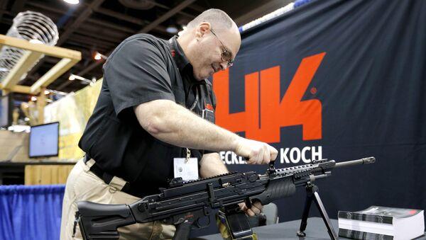 Zbraně Heckler&Koch. Ilustrační foto - Sputnik Česká republika