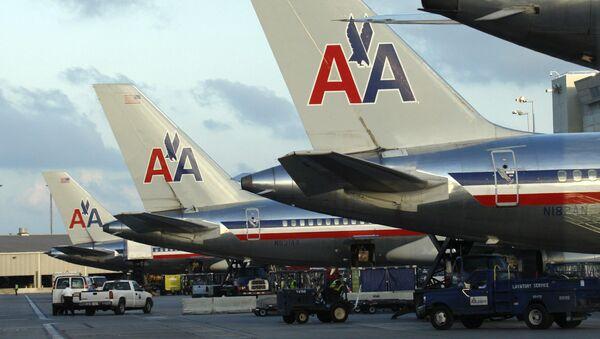 Letadla společnosti American Airlines - Sputnik Česká republika