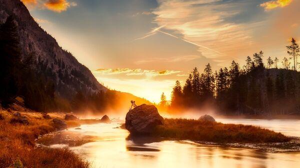 Národní park Yellowstone - Sputnik Česká republika