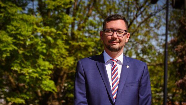 Mluvčí prezidenta České republiky Jiří Ovčáček - Sputnik Česká republika