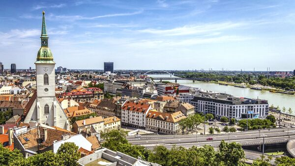 Pohled na Bratislavu, Slovensko - Sputnik Česká republika