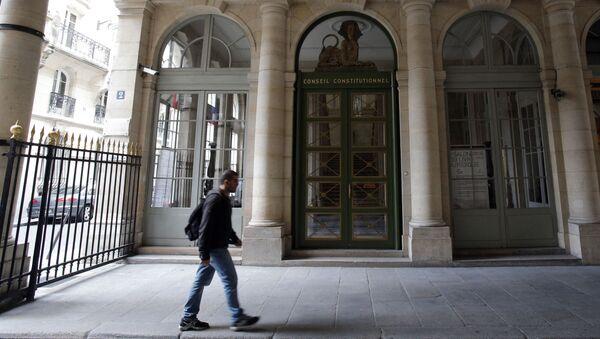 Ústavní rada v Paříži - Sputnik Česká republika