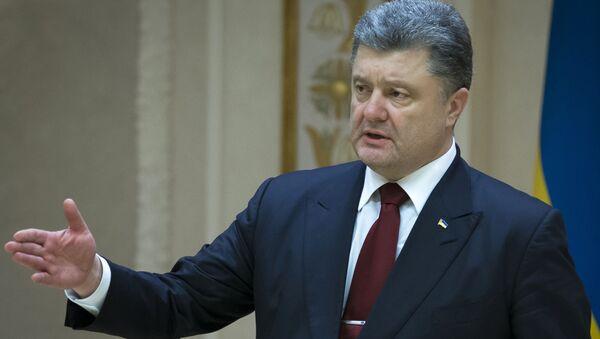 Petro Porošenko v Minsku - Sputnik Česká republika