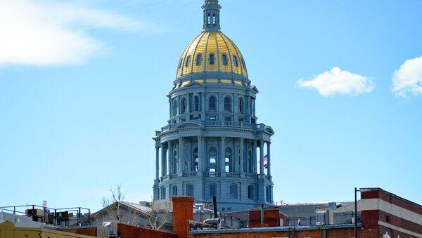 Budova Capitolu amerického státu Colorado - Sputnik Česká republika