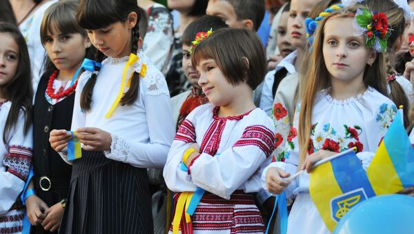Ukrajinské děti - Sputnik Česká republika