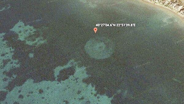 Záhadné kruhy u břehů Řecka - Sputnik Česká republika