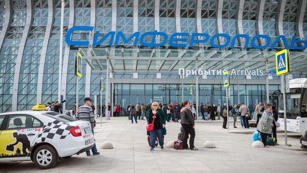 Letiště v Simferopolu - Sputnik Česká republika