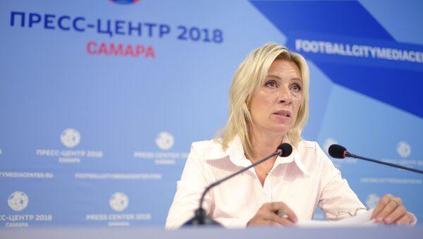 Oficiální mluvčí Ministerstva zahraničí RF Maria Zacharovová - Sputnik Česká republika