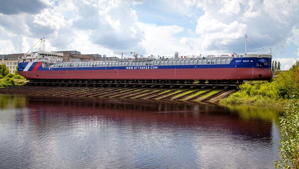 Tanker Balt Flot 16 - Sputnik Česká republika