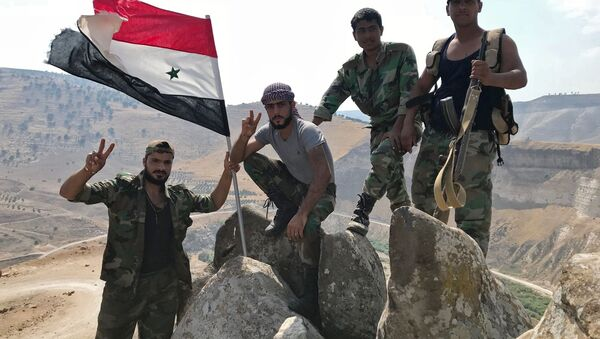 Syrští vojáci. Ilustrační foto - Sputnik Česká republika