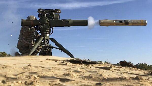 Raketomet TOW. Ilustrační foto - Sputnik Česká republika