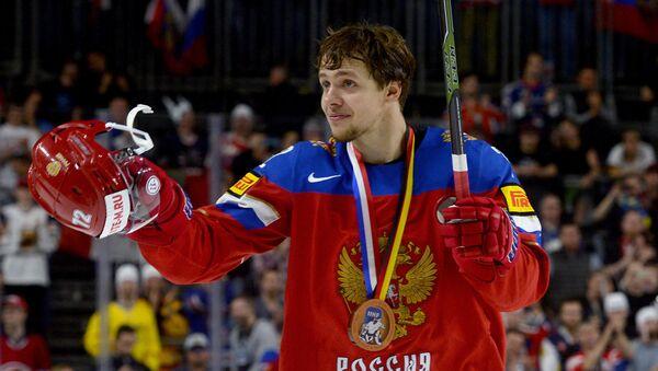 Artěmij Panarin při MS v hokeji 2017 - Sputnik Česká republika