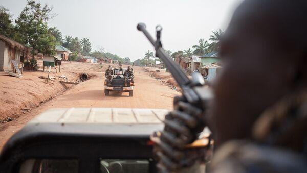 Vojáci ve Středoafrické republice. Ilustrační foto - Sputnik Česká republika