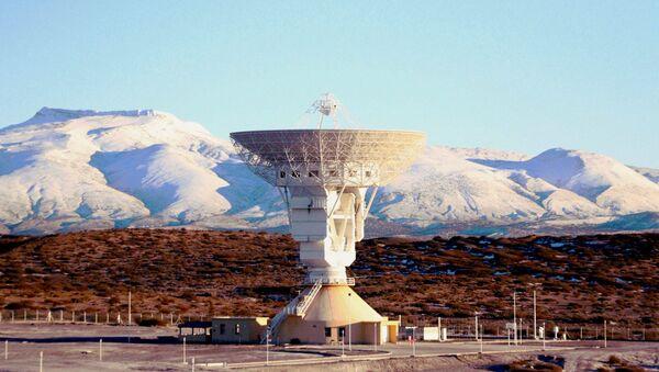 Obří radioteleskop v čínském středisku výzkumu vesmíru v Argentině - Sputnik Česká republika