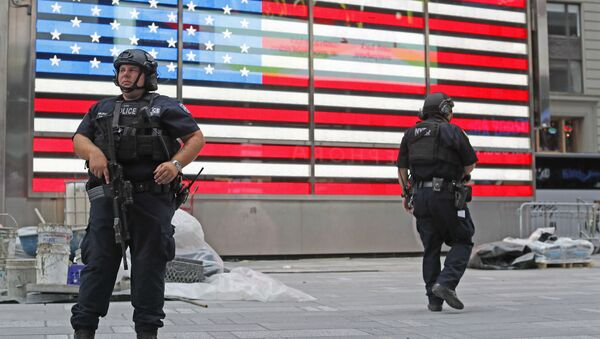 Policie USA - Sputnik Česká republika