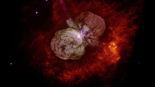 Звездная система Эта Киля, снятая космическим телескопом Хаббл - Sputnik Česká republika