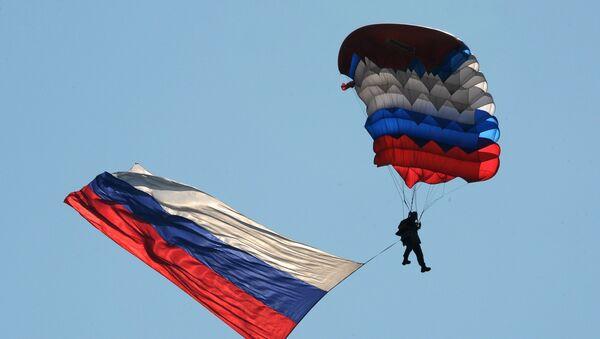 Ruský výsadkář. Ilustrační foto - Sputnik Česká republika