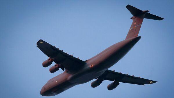 Vojenský dopravní letoun USA C-5 Galaxy - Sputnik Česká republika