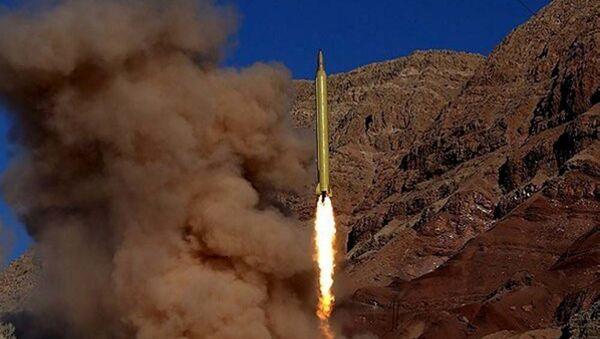 balistická raketa v Íráně - Sputnik Česká republika