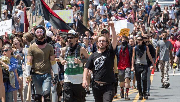 Protesty v Charlottesville - Sputnik Česká republika