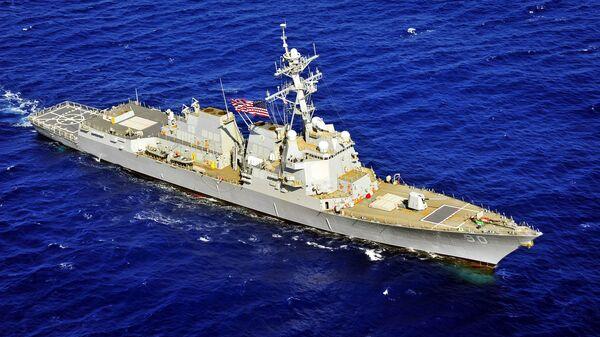 Americká fregata USS Chafee - Sputnik Česká republika