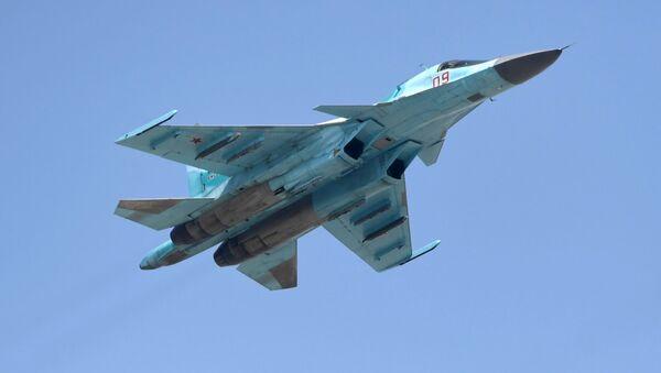 Bombardér Su-34 - Sputnik Česká republika