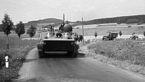 Vojáci u Prahy, 1968 - Sputnik Česká republika