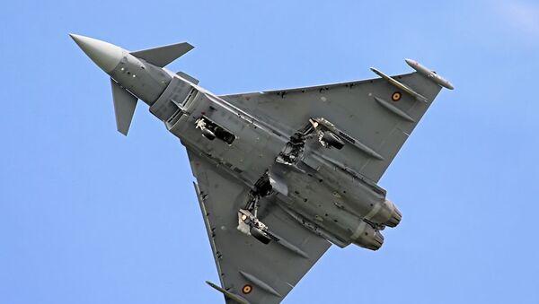 Španělská stíhačka Eurofighter Typhoon - Sputnik Česká republika