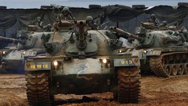 Tanky M48. Ilustrační foto - Sputnik Česká republika