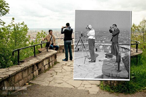 Okno do minulosti: Budapešť 20. století na nových snímcích - Sputnik Česká republika