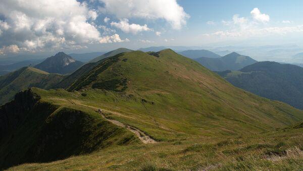 Vrchol hory Velký Rozsutec - Sputnik Česká republika