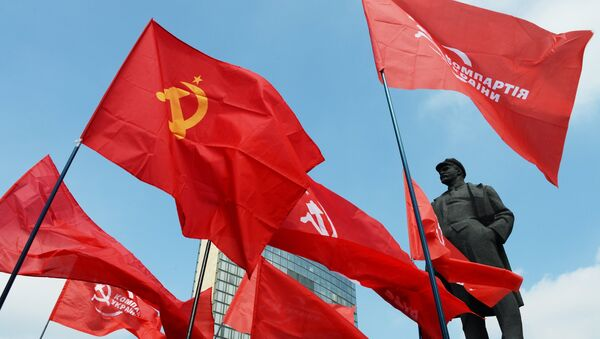 Pomník Lenina v Doněcku - Sputnik Česká republika